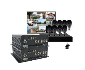 视频遥测终端机-多达8路视频监控