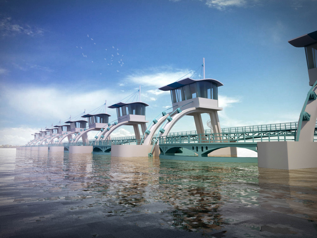 水库大坝安全监测系统