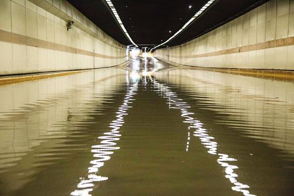 城市下穿隧道积水监测系统