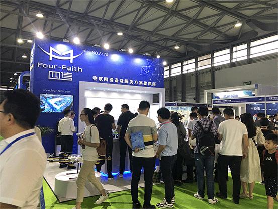 上海物联网展-四信展位