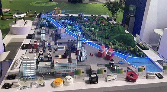 上海物联网展-四信沙盘