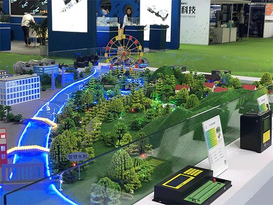 上海物联网展-四信沙盘3