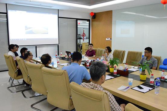 中国科学院海西研究院泉州装备制造研究所一行莅临四信参观交流3