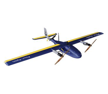 F-A倾转旋翼垂直起降固定翼无人机368-320