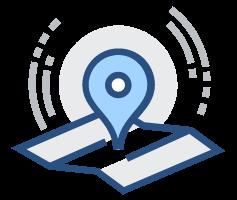 城市防汛监测系统功能-地图定位