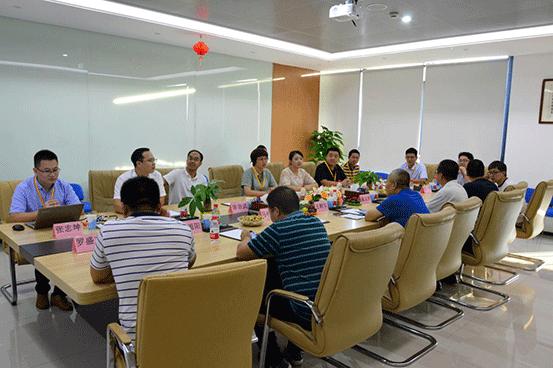宁夏自然资源厅领导一行座谈会