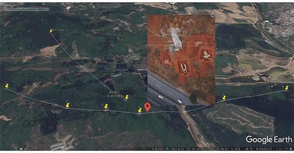 无人机电力巡线应用施工识别图