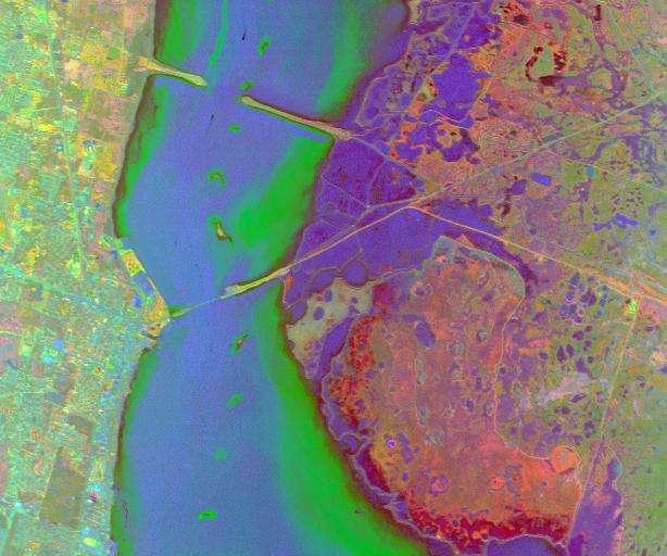 无人机河流环境监测解决方案感光图