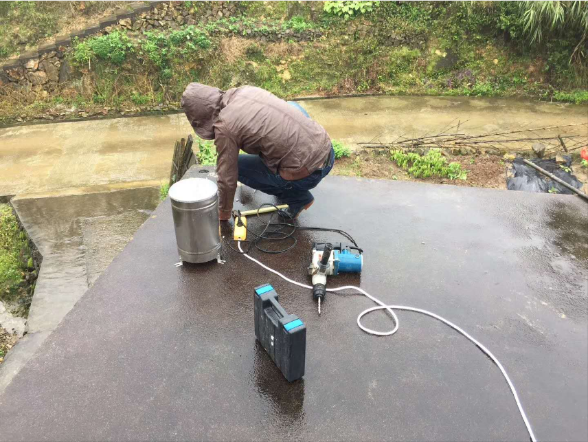 水雨情监测系统现场安装图