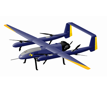 垂直起降固定翼无人机_中型垂直起降固定翼无人机_可见光固定翼无人机_巡视版固定翼无人机 F-A60
