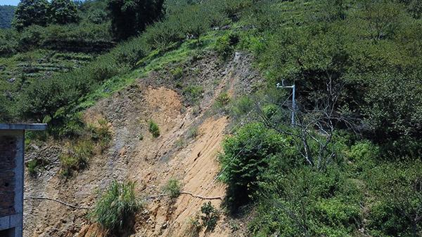 物联网灾情预警系统项目-泥石流监测点