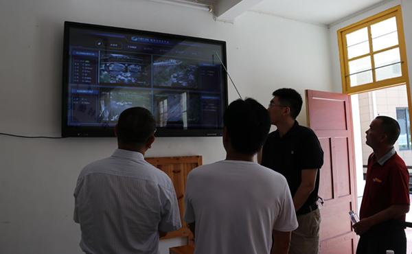 物联网灾情预警系统项目-村部讲解