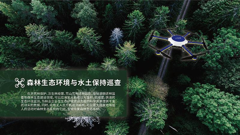 无人机林业领域应用解决方案-水土巡查