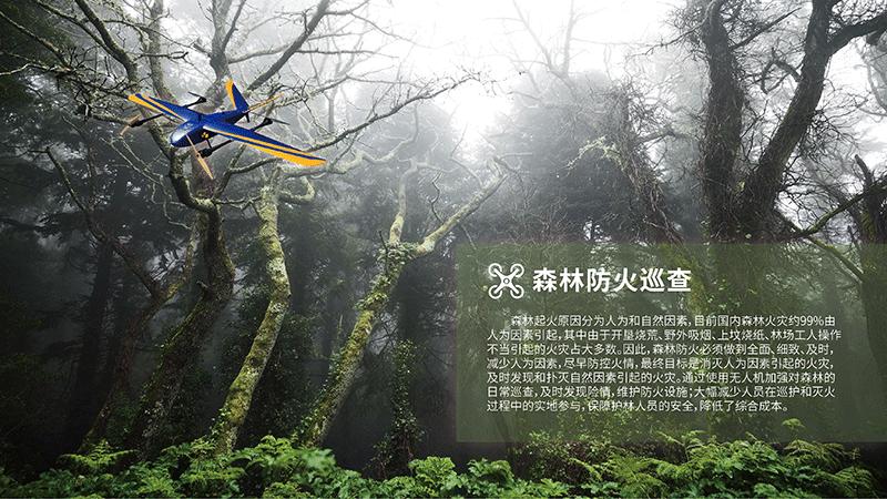 无人机林业领域应用解决方案-森林防火巡查