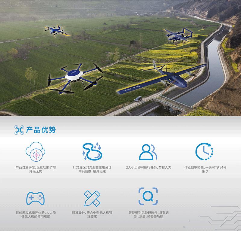 无人机灌区巡视解决方案-产品优势