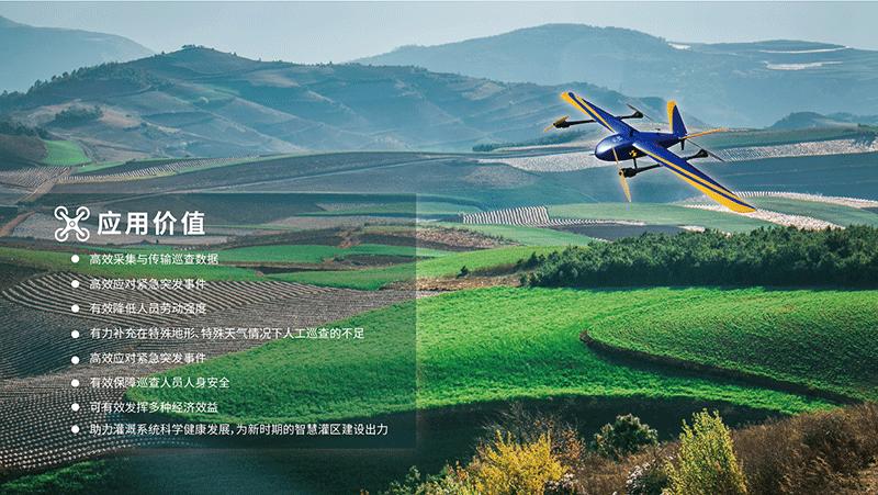 无人机灌区巡视解决方案-应用价值