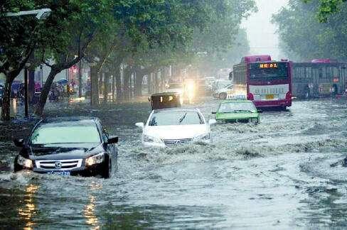 城市内涝积水监测系统解决方案