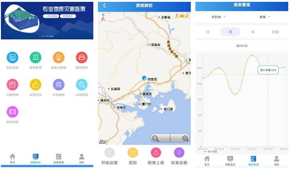 铁路地质灾害预警系统移动应用系统
