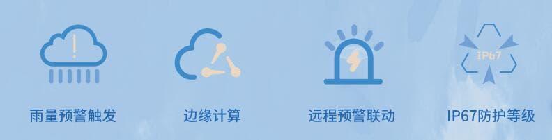 压电式雨量传感器_智能一体式雨量计_普适型雨量报警器