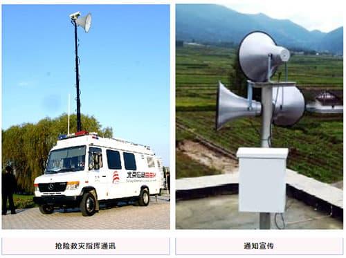 地灾普适型无线预警广播_单站无线预警广播设备_无线声光预警设备应用领域2