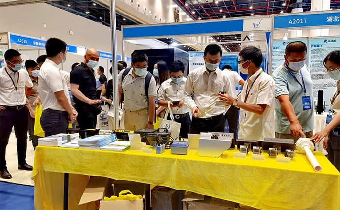 四信携AI智能视频终端和自动识别水尺参加2021中国水博览会2